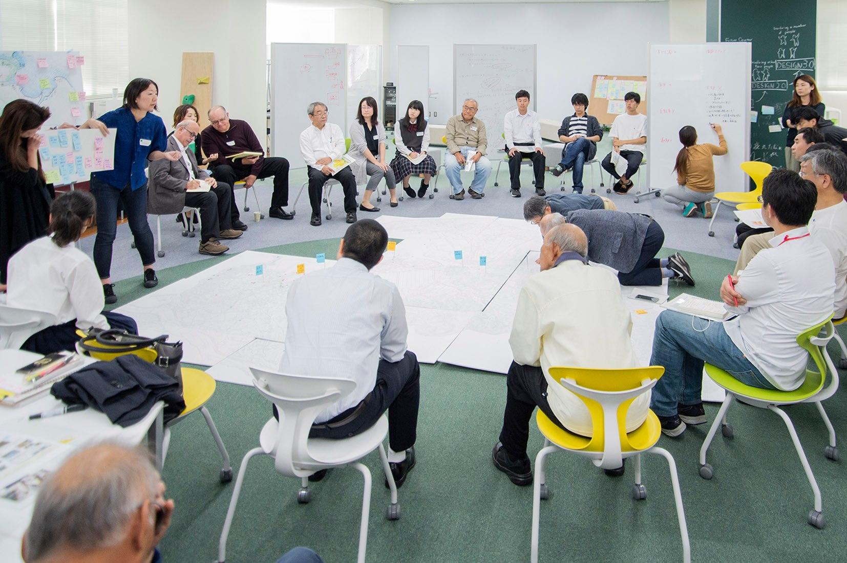 市民を中心とした共創手法「リビングラボ」。徳島県小松島市での「こまつしまリビングラボ」に参画しました。