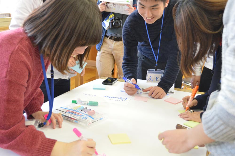 徳島県牟岐町での高校生・大学生向け「災害についてデザインシンキングで考えるワークショップ」